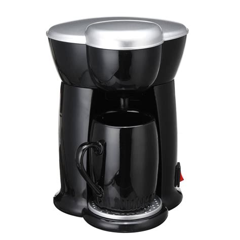 The push button on the lid needs to be fully actuated to ensure the lid opens properly. 300W Mini Single Cup Drip Coffee Machine Makers Electric Automatic Espresso Machine - Dr Techlove