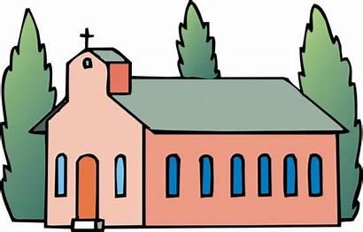 Church Clip Clipart Building Christian Churches Local