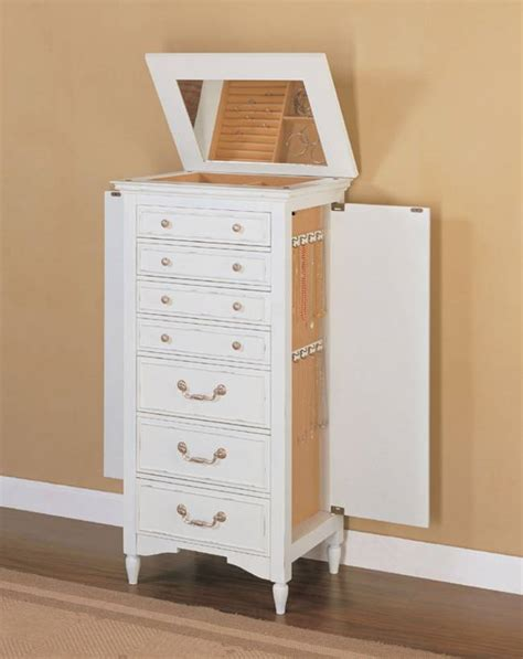 White Mirrored Jewelry Cabinet Armoire Canada by White Jewelry Armoire Ikea Pictures Reference