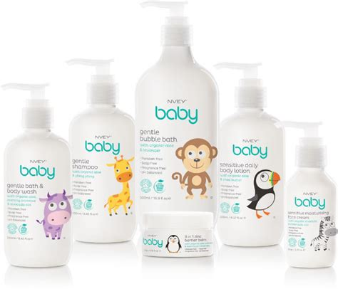 Nvey Baby Organic Gentle Baby Care Products Moor