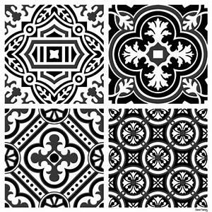 Stickers Imitation Carreaux De Ciment : sticker carreaux de ciment madeleine ~ Melissatoandfro.com Idées de Décoration