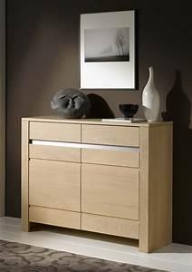Meuble Chene Clair : meuble d 39 entr e ch ne clair 2 portes lucas meubles turone ~ Edinachiropracticcenter.com Idées de Décoration