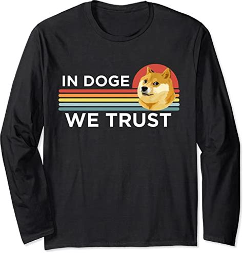 Dogecoin Funny In Doge We Trust Crypto Coin Dog Meme Gift ...