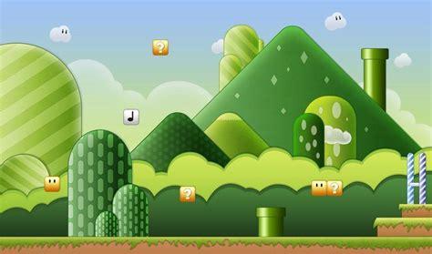 mario landscape super mario games world wallpaper game