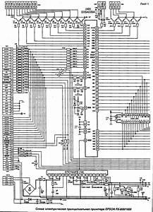 Epson Fx800 Service Manual Download  Schematics  Eeprom