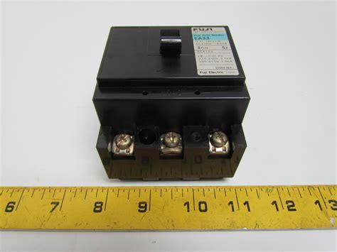 Fuji Electric Auto Circuit Breaker Pole Amp