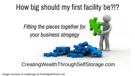 How Big Should My First Storage Facility Be? The Answer Is