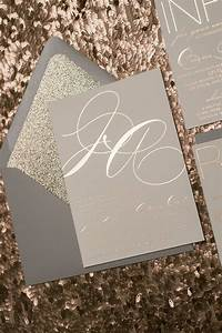 Jessica suite glitter package grey and rose gold rose for Rose gold foil wedding invitations uk