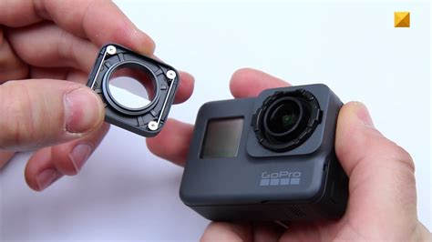 front protective lens removal replacement gopro