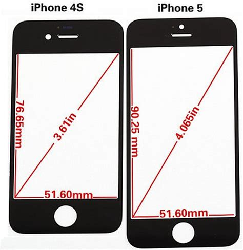 how many inches is the iphone 5 looks like we are in for a change literally with