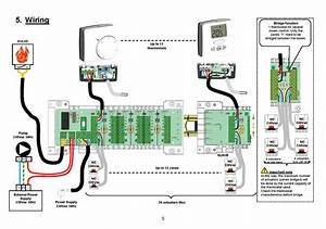 Room Sensor Wiring Diagram With Thermostat