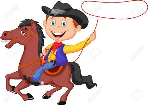 cartoon cowboy clipart  clip art