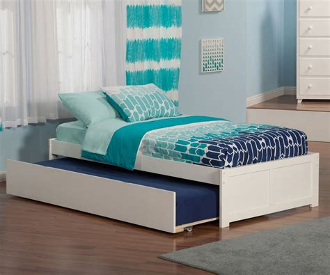 18362 white size trundle bed lifestyle concord platform bed with trundle in white