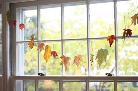 Herbstmotive Fenster by Fensterdeko Zum Herbst Kreative Vorschl 228 Ge Archzine Net