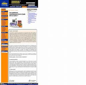 Réviser Le Code De La Route : les policiers devaient ils r viser le code de la route ~ Medecine-chirurgie-esthetiques.com Avis de Voitures