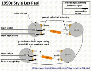 Image Of Les Paul U00ae Wiring Harness