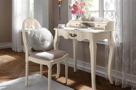 bureau romantique blanc déco d 39 helline