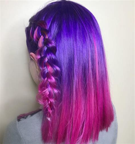 Cool Hairstyles For Ombre Hair by Unicorn Ombre Hairstyles Lipstiq