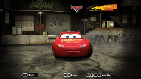 speed  wanted fantasy lightning mcqueen nfscars