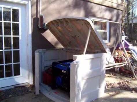 diy portable generator shed portable generator enclosures ftempo