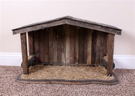 image result  wooden nativity stable holiday decor pinterest nativity stable craft