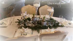 Table De Noel Blanche : deco table noel blanche vous tout simplement ~ Carolinahurricanesstore.com Idées de Décoration