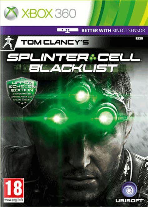 splinter cell blacklist special edition xbox  zavvi