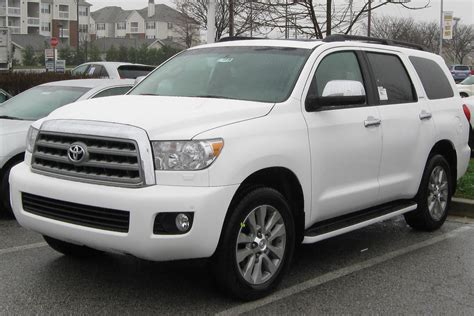 Toyota Sequoia History Of Model Photo Gallery And List