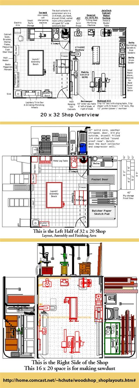 woodworking shop floor plans woodworking projects plans