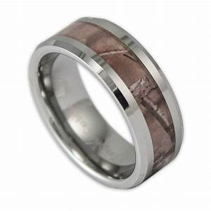 8mm wide men39s tree camo tungsten ring camouflage wedding With tungsten mens wedding rings