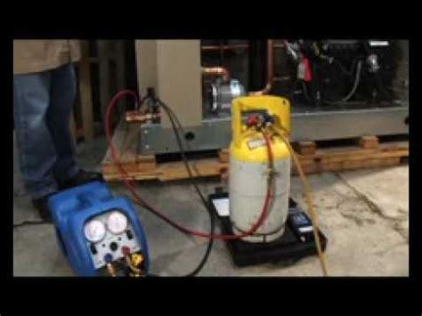 procedimientos  recuperar gas refrigerante youtube
