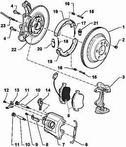 Repair Rear Wheel Brakes  Brake Caliper Fn 44  Volkswagen