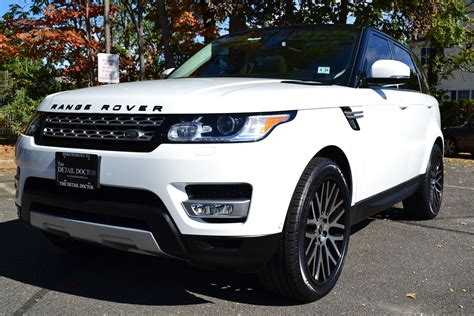 land rover sport white 2015 land rover range rover sport pre owned