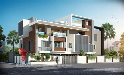Bungalow Architecture Nashik  3d Power