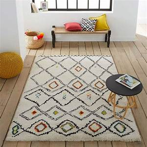 14 idees deco de tapis berbere With tapis berbere avec table appoint canapé