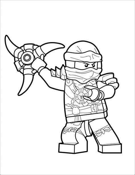 lego ninjago coloring page jay  brick show