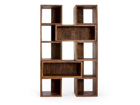 Bücherregal Cube Ausziehbar Palisander Honig