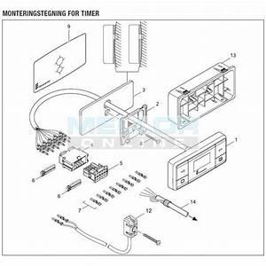 Eberspacher Easystart 7 Day Timer 12  24v  Night Heater Kits  Eberspacher  Webasto  Mikuni  Durite