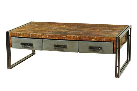 wood and steel desk coffee tables ideas industrial creation wood and steel