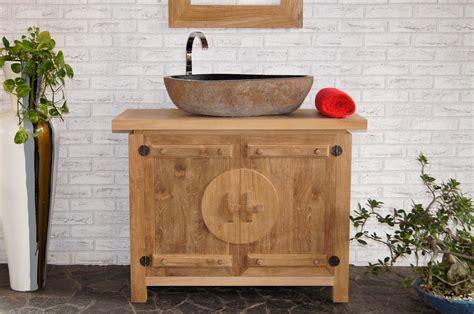 Waschbecken Mit Holz by Waschtisch Mit Unterschrank 100 Cm Nr 58122 Unterbau Bad
