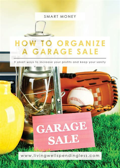 How To Organize A Garage Sale  How To Host A Successful