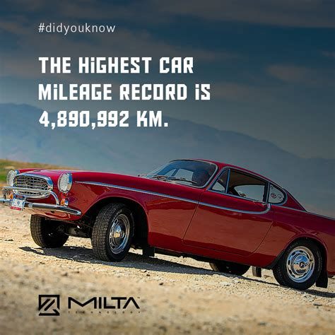 Cars With Highest Mileage by The Highest Car Mileage Record Is 4 890 992 Km Milta