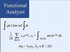 Introduction to Functional Analysis Mathematics MIT
