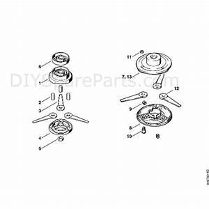 Stihl Fs 80 Brushcutter  Fs80 4137   Parts Diagram  L
