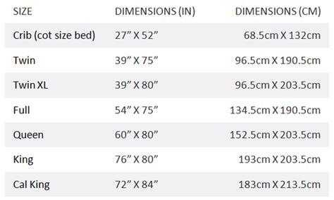 standard bed sizes quora