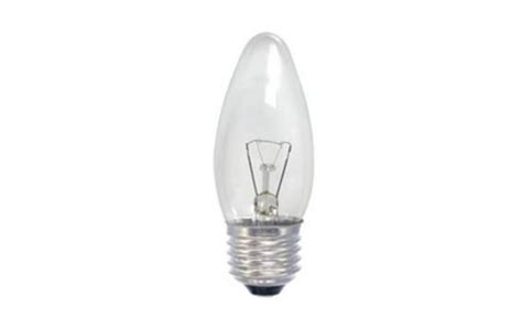 clear candle bulb es 60w architectural ironmongery sds