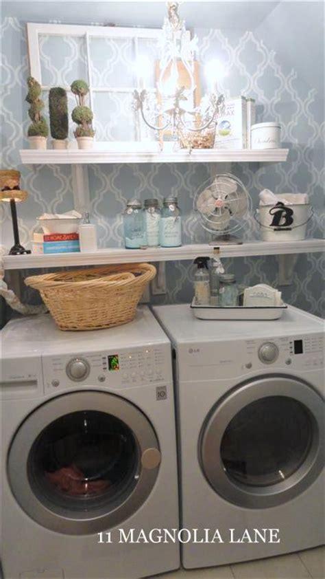 organizing a small laundry room hometalk inexpensive small laundry room redo