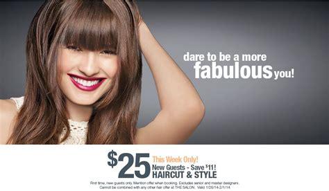Haircut Printable Coupon