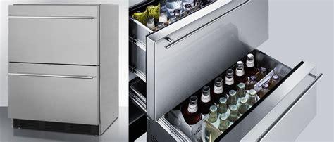 top  outdoor undercounter refrigerator drawers