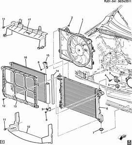 Chevrolet Sonic Baffle  Radiator Air  Baffle  Rad Air Lwr